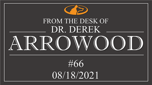 A LETTER FROM DR. ARROWOOD 08/12/20