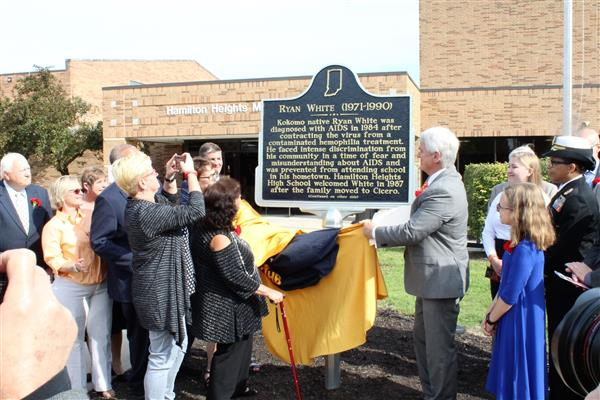 Ryan White Historical Marker Dedication Ceremony