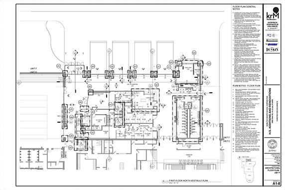 Project Vision / HS North Vestibule